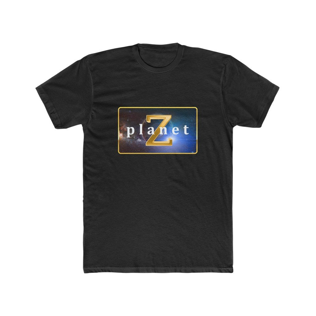 Planet Z - Men's Cotton Crew T-Shirt - Made in Australia